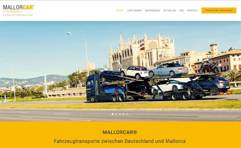 MALLORCAR® Autotransporte – Eine Marke der RAVEN Logistic