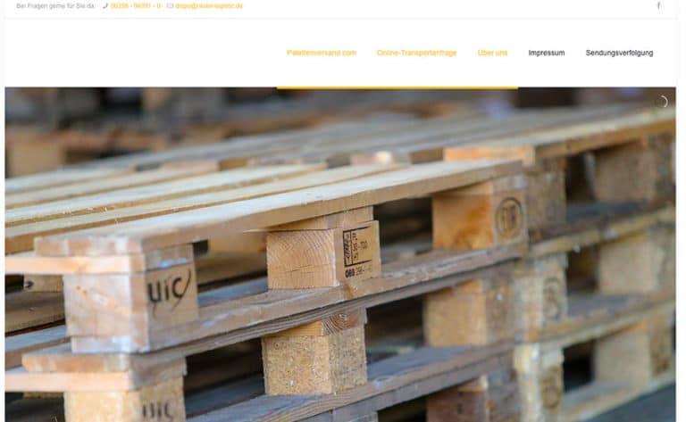 Palettenversand.com – Ein Service der RAVEN Logistic
