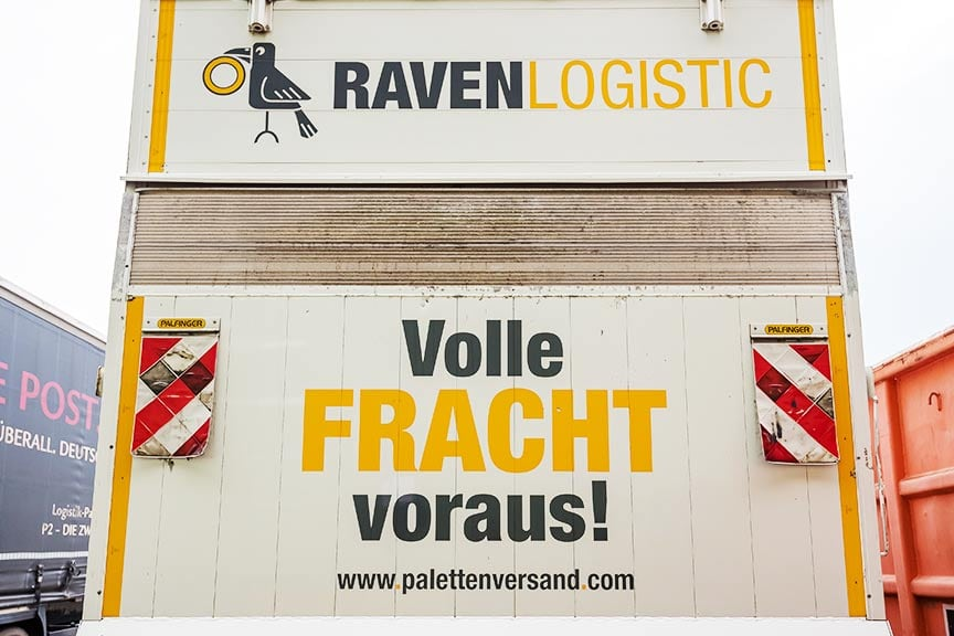Jobs bei RAVEN Logistic: Berufskraftfahrer mit Klasse CE