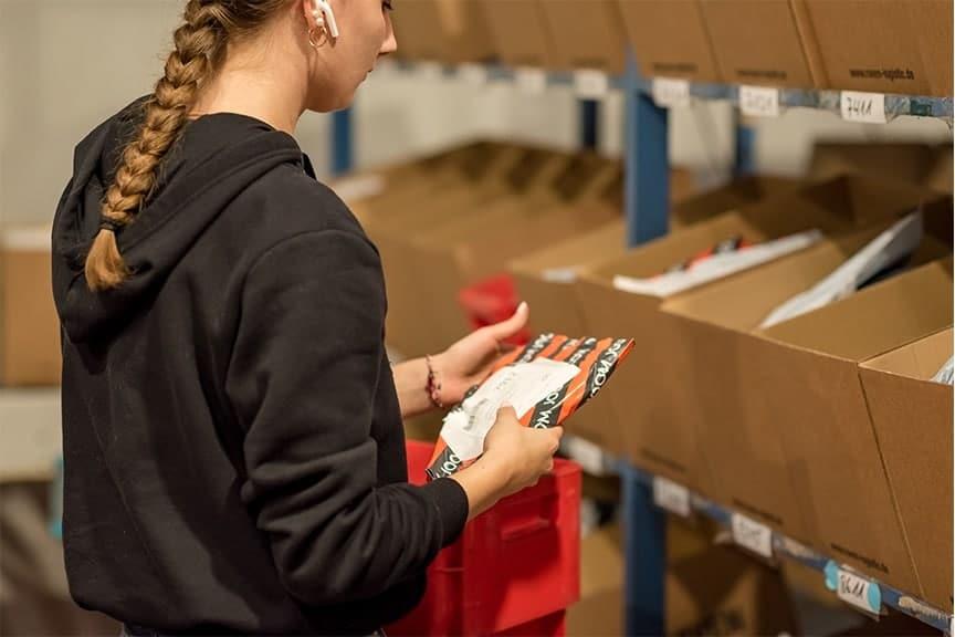 Jobs bei RAVEN Logistic: Briefsortierung Minijobber